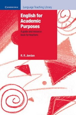English for Academic Purposes - R.R. Jordan - 9780521556187