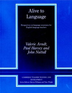 Alive to Language - Valerie Arndt - 9780521568821