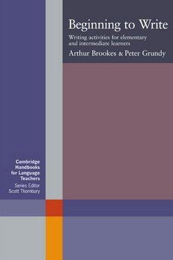 Beginning to Write - Arthur Brookes - 9780521589796