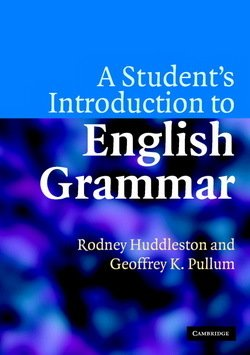 A Student's Introduction to English Grammar - Rodney D. Huddleston - 9780521612883