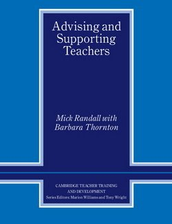 Advising and Supporting Teachers - Mick Randall - 9780521638968
