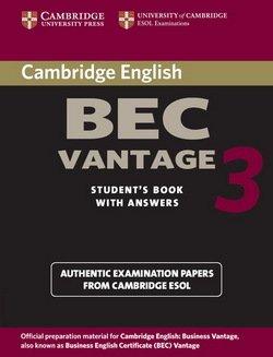 Cambridge BEC Vantage 3 Student's Book with Answers - Cambridge ESOL - 9780521671996