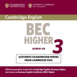 Cambridge BEC Higher 3 Audio CD - Cambridge ESOL - 9780521672054