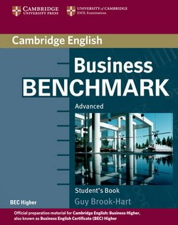 Business Benchmark Advanced Student's Book BEC Higher Edition - Guy Brook-Hart - 9780521672955