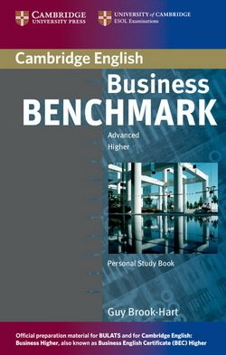 Business Benchmark Advanced Personal Study Book BEC and BULATS Edition - Guy Brook-Hart - 9780521672979