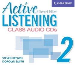 Active Listening (2nd Edition) 2: Class Audio CDs (3) - Steven Brown - 9780521678193