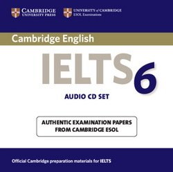 Cambridge English: IELTS 6 Audio CDs (2) - Cambridge ESOL - 9780521693103