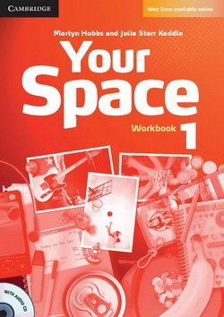 Your Space 1 Workbook with Audio CD - Martyn Hobbs - 9780521729246