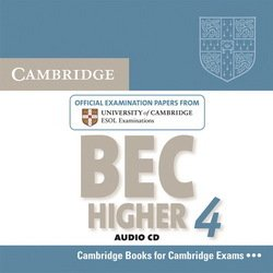 Cambridge BEC Higher 4 Audio CD - Cambridge ESOL - 9780521739214