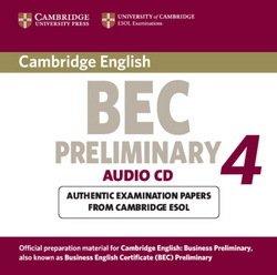 Cambridge BEC Preliminary 4 Audio CD - Cambridge ESOL - 9780521739245