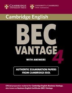 Cambridge BEC Vantage 4 Student's Book with Answers - Cambridge ESOL - 9780521739269