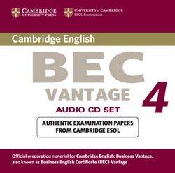 Cambridge BEC Vantage 4 Audio CDs (2) - Cambridge ESOL - 9780521739276