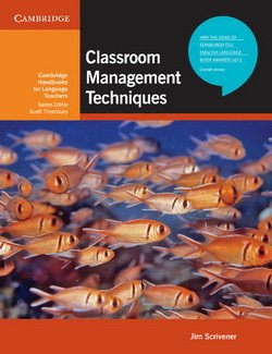 Classroom Management Techniques - Jim Scrivener - 9780521741859