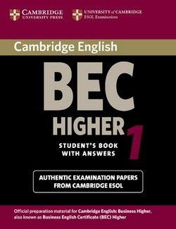 Cambridge BEC Higher 1 Student's Book - University of Cambridge Local Examinations Syndicate - 9780521752893