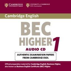 Cambridge BEC Higher 1 Audio CD - University of Cambridge Local Examinations Syndicate - 9780521752916