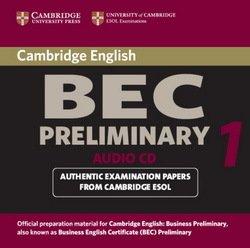 Cambridge BEC Preliminary 1 Audio CDs (2) - University of Cambridge Local Examinations Syndicate - 9780521753036