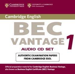 Cambridge BEC Vantage 1 Audio CDs (2) - University of Cambridge Local Examinations Syndicate - 9780521753067