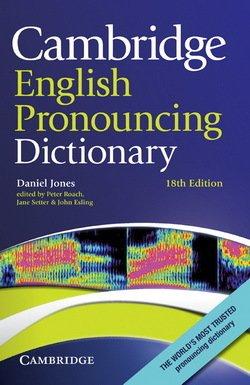 Cambridge English Pronouncing Dictionary (18th Edition) (Hardback) - Daniel Jones - 9780521765756