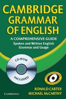 Cambridge Grammar of English (Hardback) with CD-ROM - Ronald Carter - 9780521857673