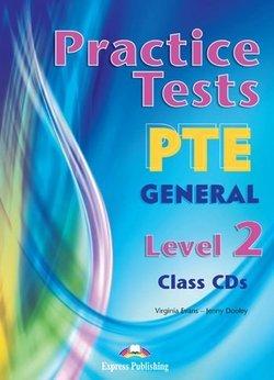 Practice Tests PTE General Level 2 Class Audio CDs (3) - Virginia Evans - 9780857776921