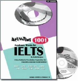 Activating 1001 Academic Words for IELTS Book with CD-ROM - Keith Burgess - 9780957898035