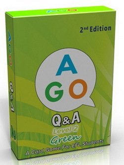 AGO (2nd Edition) Level 2 - Green; A Question and Answer EFL Card Game - Butchers