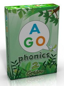 AGO Phonics Level 2 - Green; A Fun EFL Card Game for Students Learning to Read - Butchers