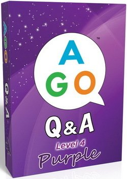 AGO (2nd Edition) Level 4 - Purple; A Question and Answer EFL Card Game - Butchers