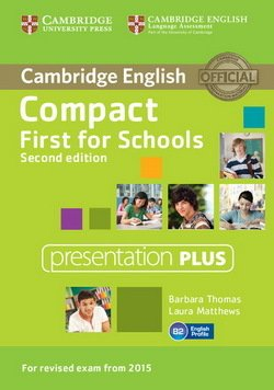 Compact First for Schools (2nd Edition) Presentation Plus DVD-ROM - Barbara Thomas - 9781107416048