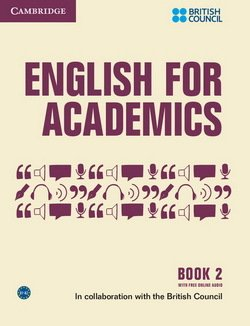 English for Academics Book 2 with Online Audio - British Council - 9781107435025