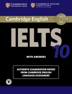 Cambridge English: IELTS 10 Self-Study Pack (Student's Book with Answers & Audio Download) -  - 9781107464438