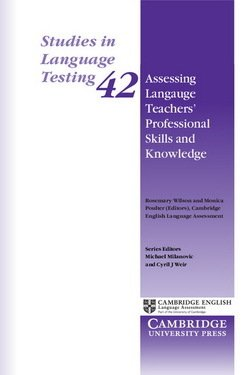 Assessing Language Teachers' Professional Skills and Knowledge (SILT 42) - Rosemary Wilson - 9781107499782