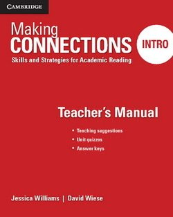 Making Connections (2nd Edition) Intro Teacher's Manual - Jessica Williams - 9781107516090