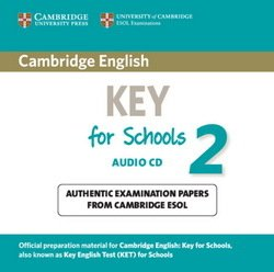 Cambridge English: Key for Schools (KET4S) 2 Audio CD - Cambridge ESOL - 9781107603158