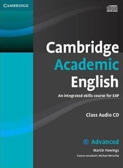 Cambridge Academic English C1 Advanced Class Audio CD & DVD Pack - Martin Hewings - 9781107607156