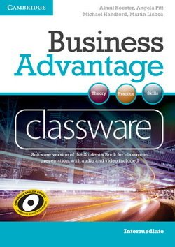 Business Advantage Intermediate Classware DVD-ROM - Almut Koester - 9781107607798