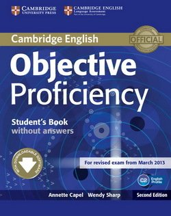Objective Proficiency (2nd Edition) Student's Book without Answers with Downloadable Software - Annette Capel - 9781107611160