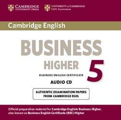 Cambridge English: Business (BEC) 5 Higher Audio CD - Cambridge ESOL - 9781107611184