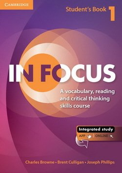 In Focus 1 Student's Book with Online Resources - Charles Browne - 9781107627093