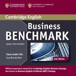 Business Benchmark (2nd Edition) Upper Intermediate Business Vantage (BEC) Class Audio CDs (2) - Guy Brook-Hart - 9781107633155