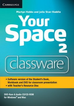 Your Space 2 Classware DVD-ROM with Teacher's Resource Disc - Martyn Hobbs - 9781107635425