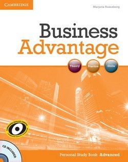 Business Advantage Advanced Personal Study Book with Audio CD - Marjorie Rosenberg - 9781107637832