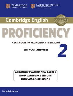 Cambridge English: Proficiency (CPE) 2 Student's Book without Answers -  - 9781107637924