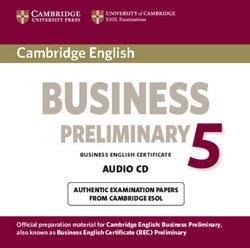 Cambridge English: Business (BEC) 5 Preliminary Audio CD - Cambridge ESOL - 9781107649927