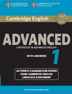 Cambridge English: Advanced (CAE) 1 Student's Book with Answers -  - 9781107653511
