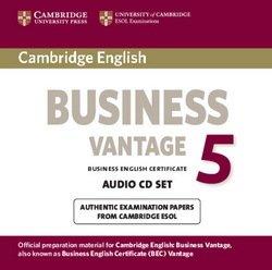 Cambridge English: Business (BEC) 5 Vantage Audio CDs (2) - Cambridge ESOL - 9781107654723