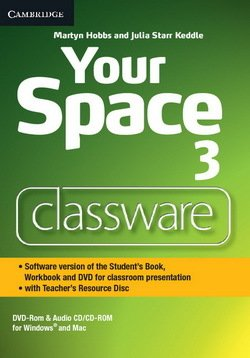 Your Space 3 Classware DVD-ROM with Teacher's Resource Disc - Martyn Hobbs - 9781107660748