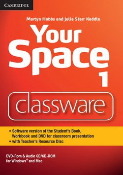 Your Space 1 Classware DVD-ROM with Teacher's Resource Disc - Martyn Hobbs - 9781107673106