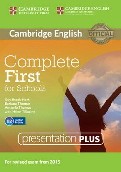 Complete First for Schools (FCE4S) Presentation Plus DVD-ROM - Guy Brook-Hart - 9781107685291