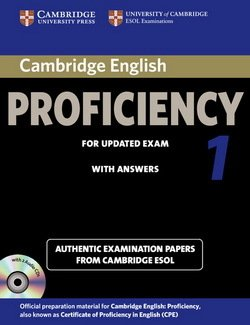 Cambridge English: Proficiency (CPE) 1 Self-Study Pack (Student's Book with Answers & Audio CDs (2)) -  - 9781107691643